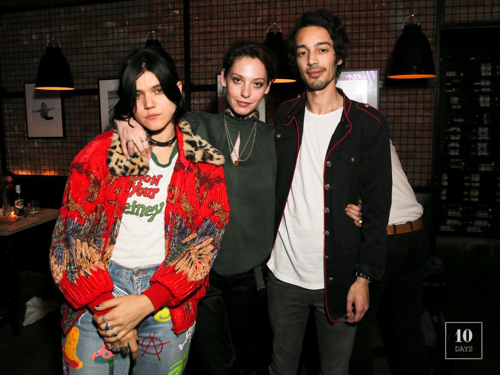 Alexandra Richards, Soko & Adam Green Party With Mixer In NYC