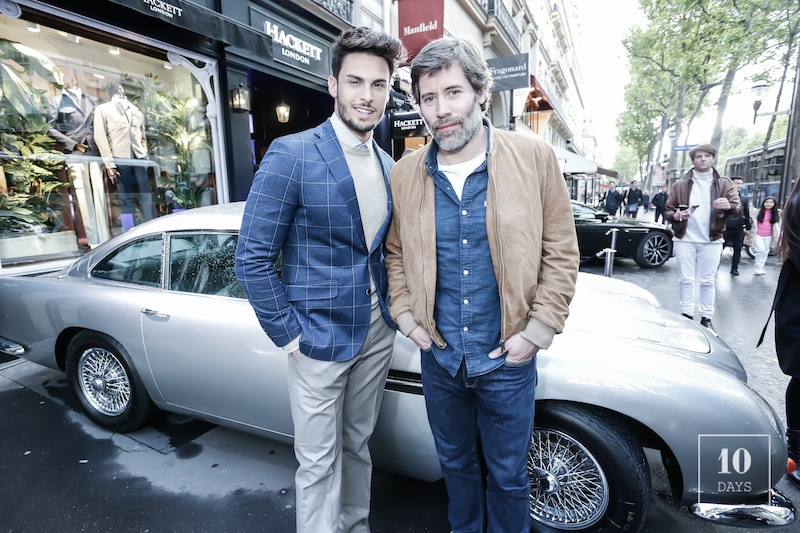 HACKETT X ASTON MARTIN NEW COLLABORATION LAUNCHING PARTY