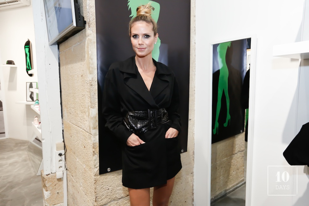 « HEIDI KLUM BY RANKIN » Book Launch at Supra Paris Shop