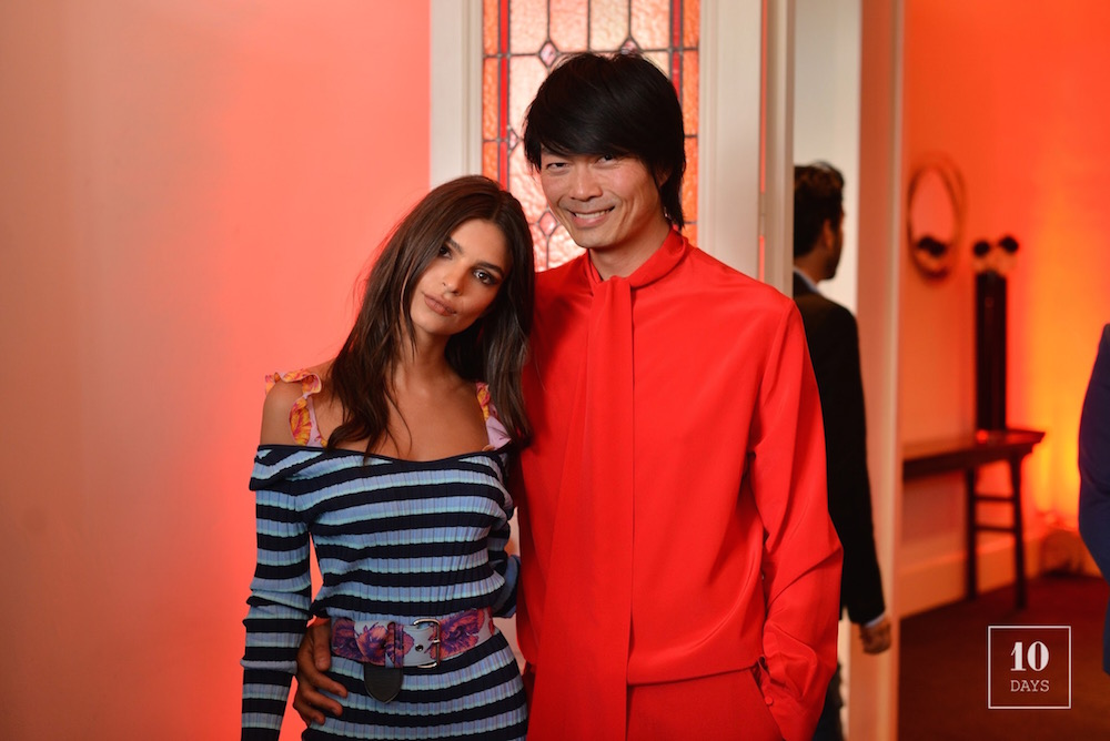 VILLA AH OPENING PYJAMA PARTY WITH EMILY RATAJKOWSKI