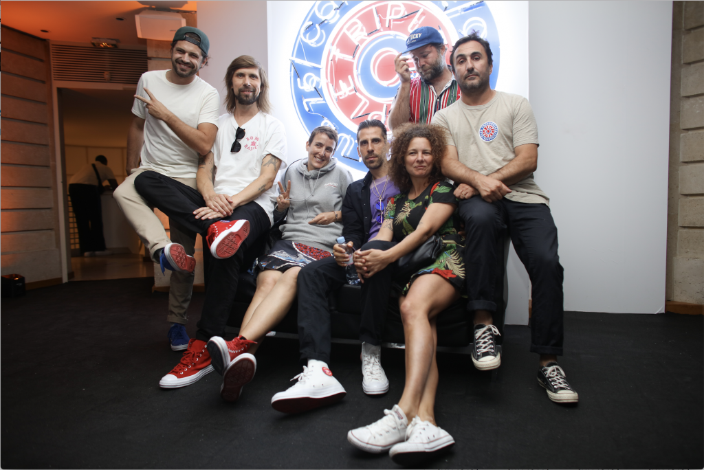 "Converse x colette x Club 75 ""Triple C"" Collaboration Celebration Moment"
