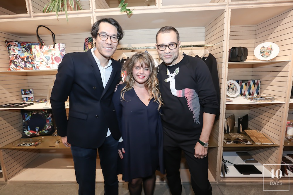 Christian Lacroix 30th Birthday Pop up Launching Party at L'Exception