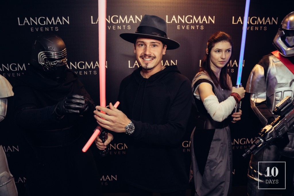 "STAR WARS: ""THE LAST JEDI "" PARIS LAUNCH PARTY W/ CRIS CAB"