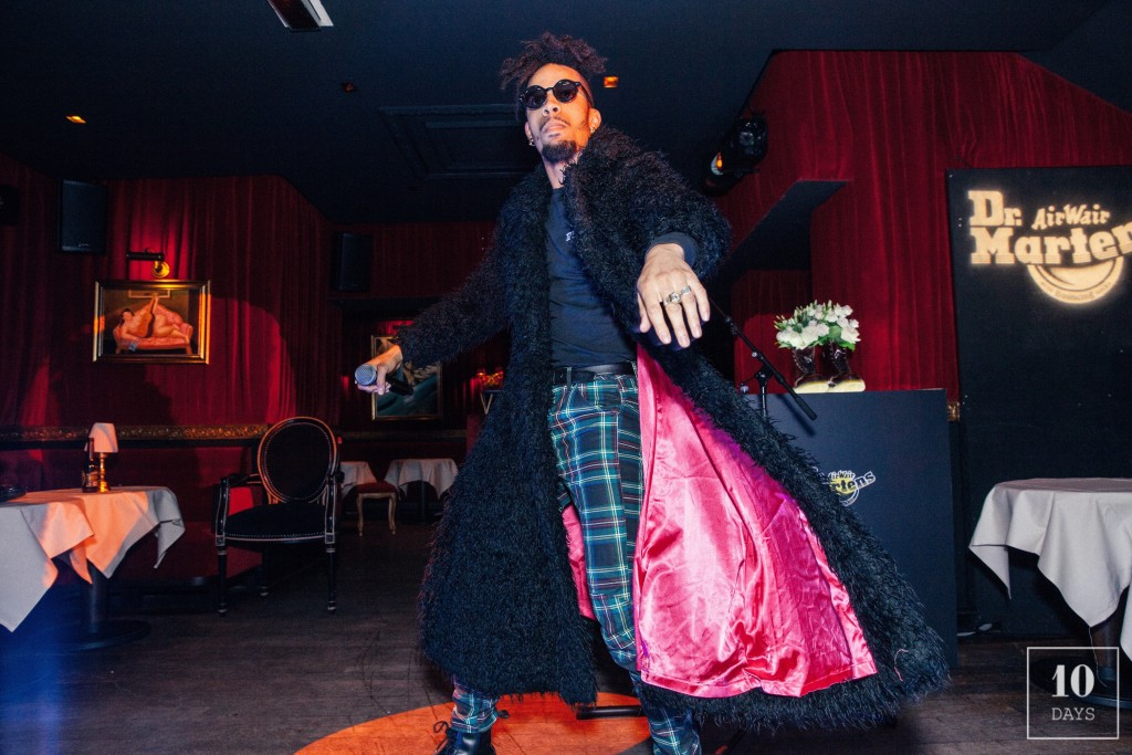 Dr. Martens Celebrates Paris Fashion Week at Piaf w/ Man Show