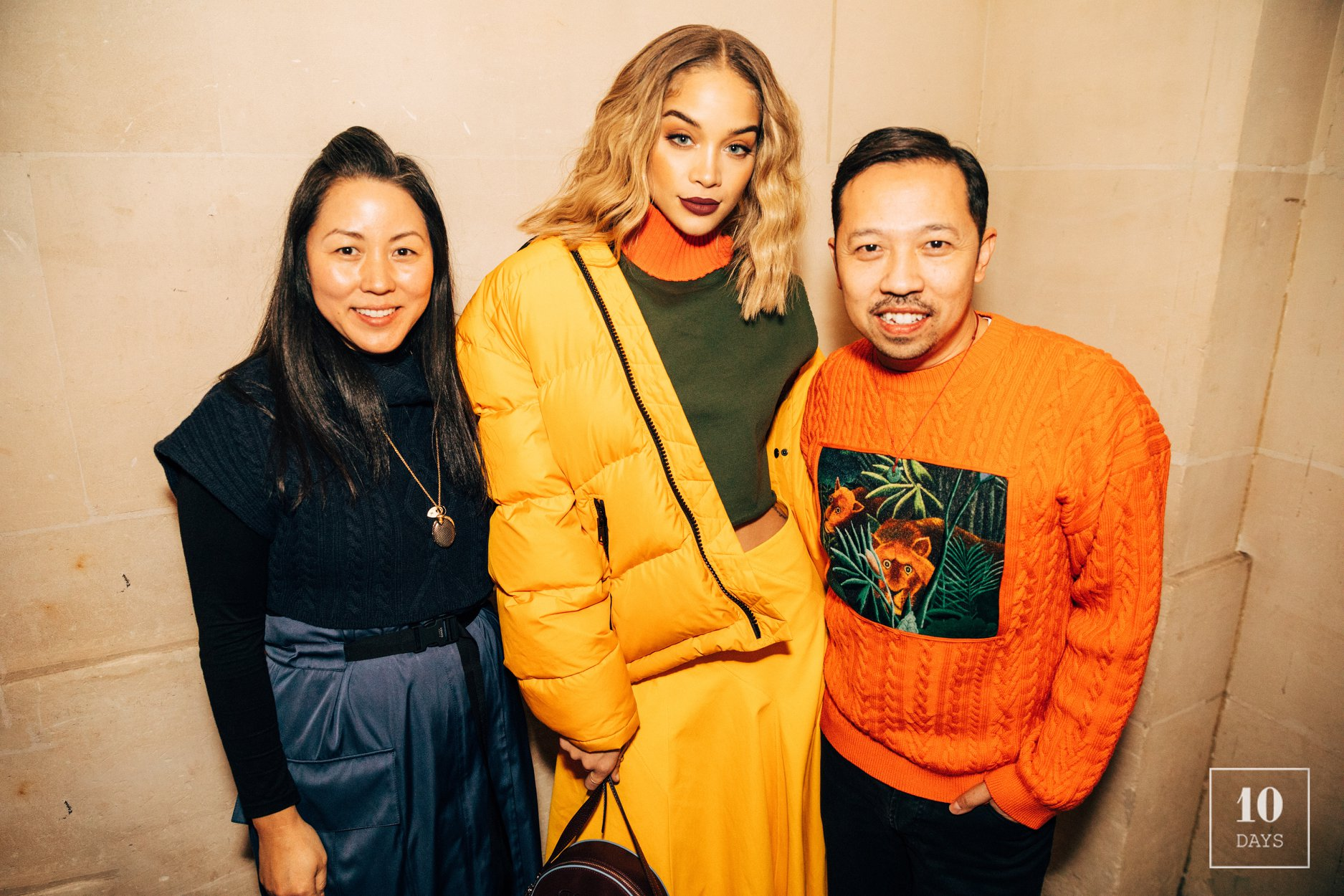 [ARCHIVES MAR. 18] Frontrow at Kenzo Collection Memento 3 AW18/19