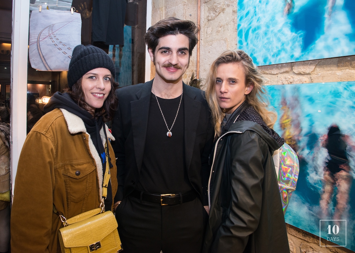 Andy x Le Plongeoir Collaboration Launching Party