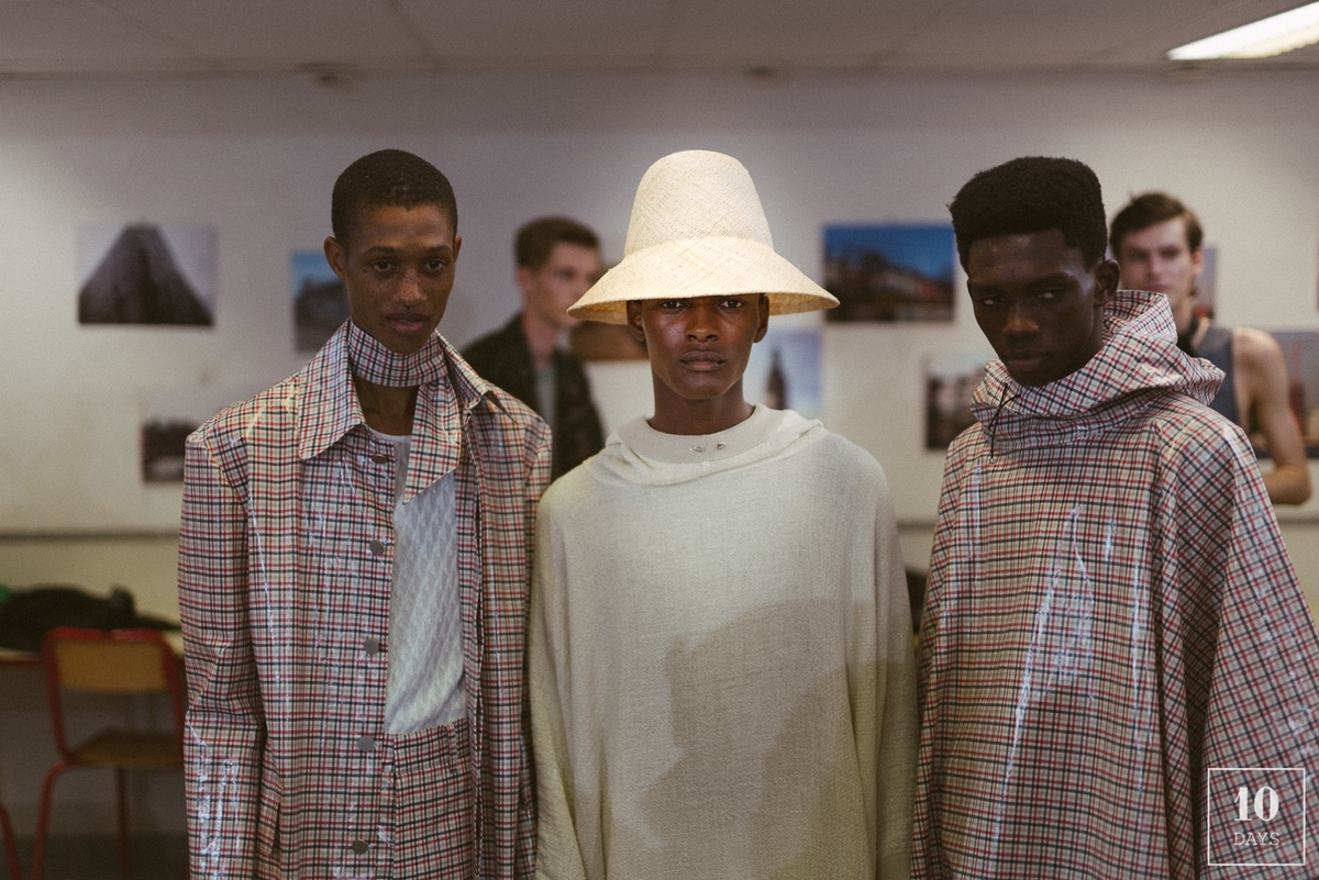 SEAN SUEN SPRING/SUMMER 2019 SHOW BACKSTAGE