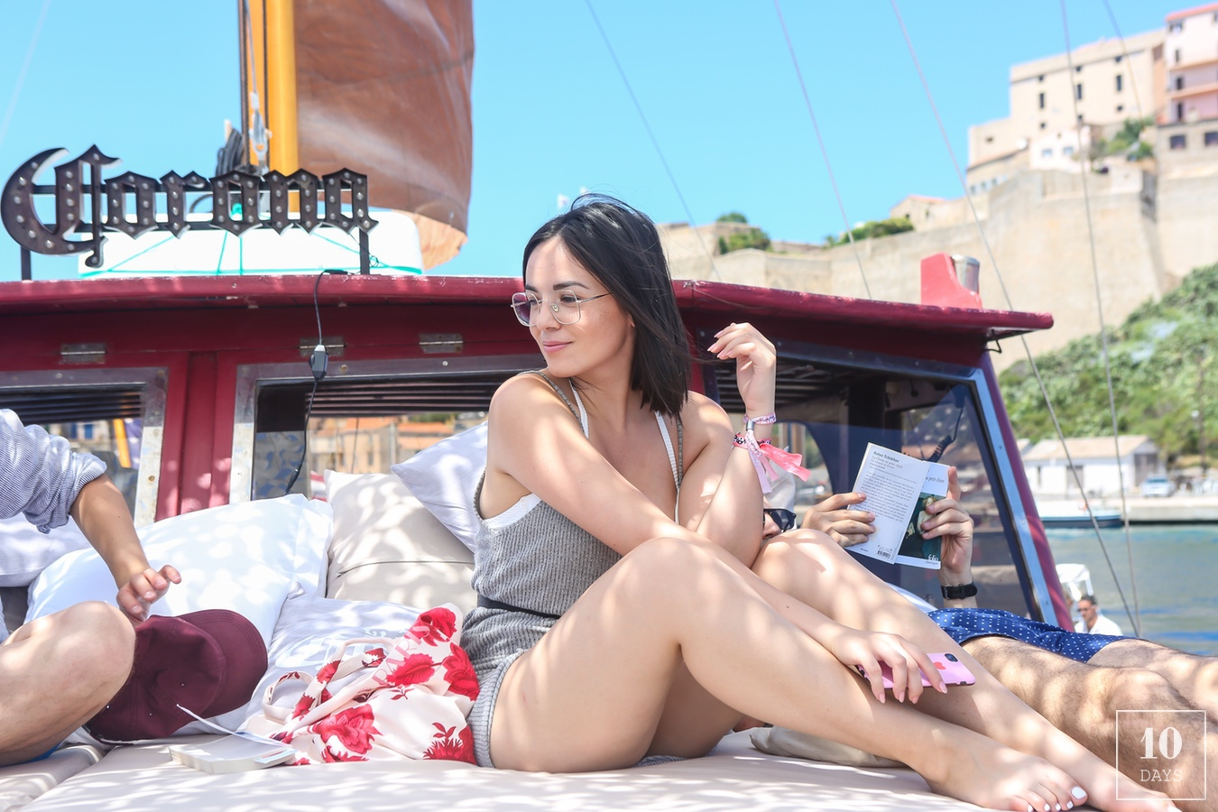 DAY 2 ON THE VOILIER CORONA W/ Agathe Auproux – CALVI ON THE ROCKS arthur mestrot
