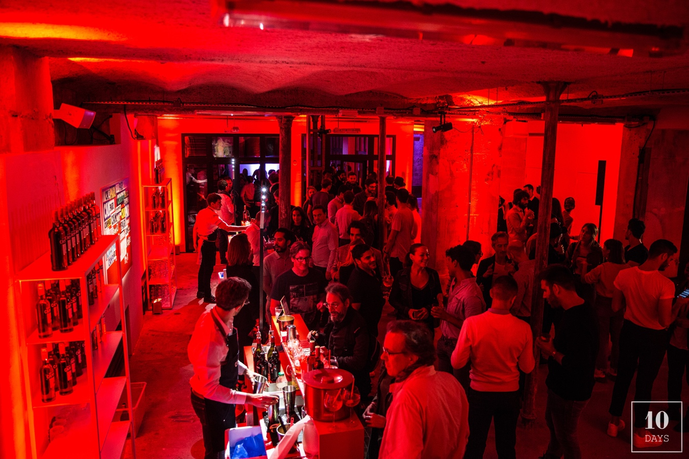 Campari Red Galleria Opening Party