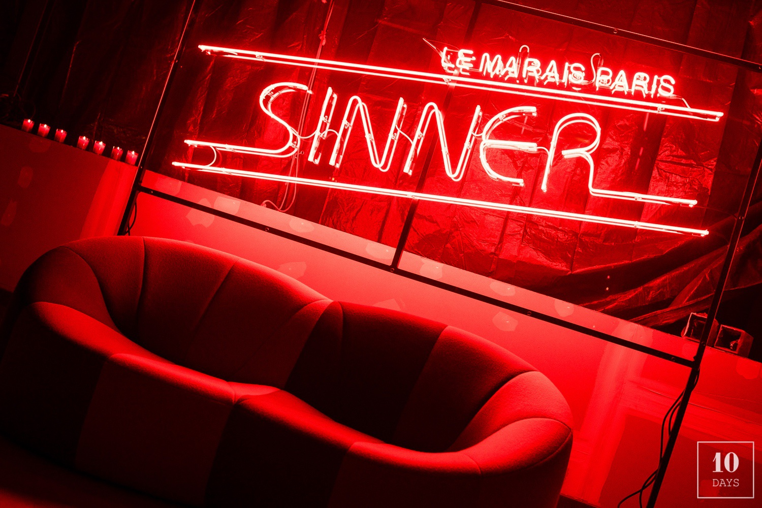 Sinner Hotel Le Marais – Pre Opening / Construction Party