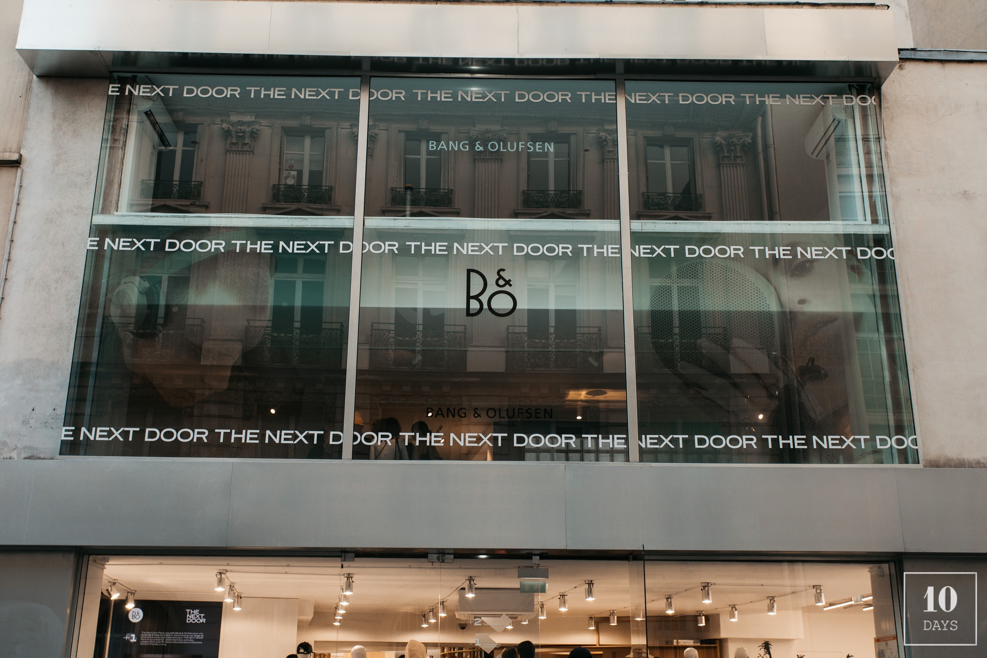 Opening Bang & Olufsen store-in-store at The Next Door Paris