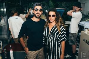Cedric Deniaud + Debora Deneau Martial