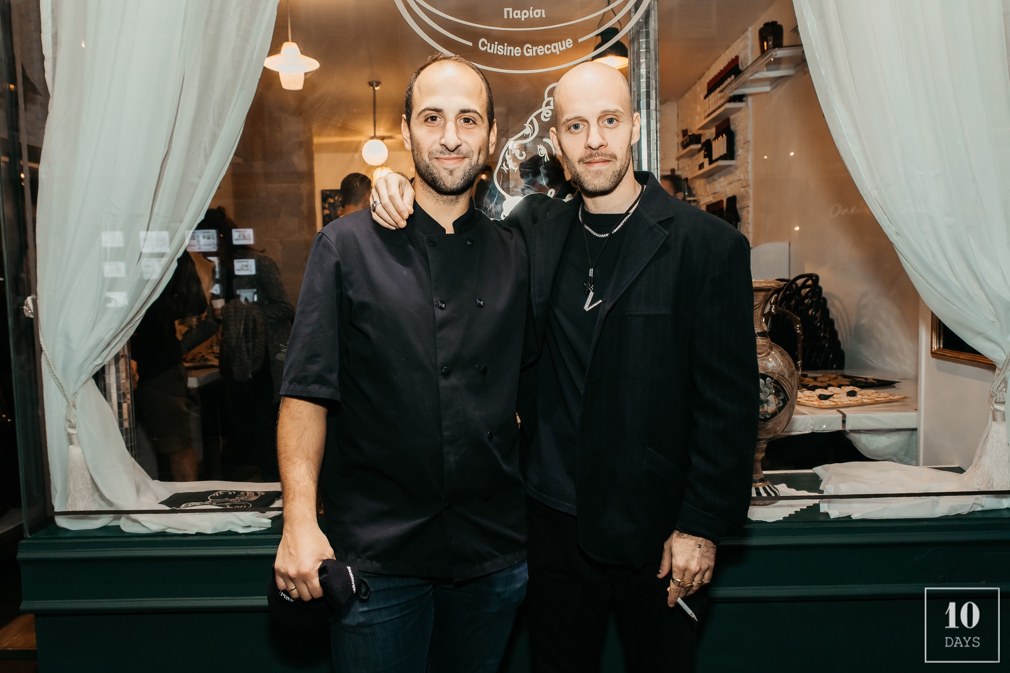 Adelfos Paris Opening Cocktail Party arthur mestrot