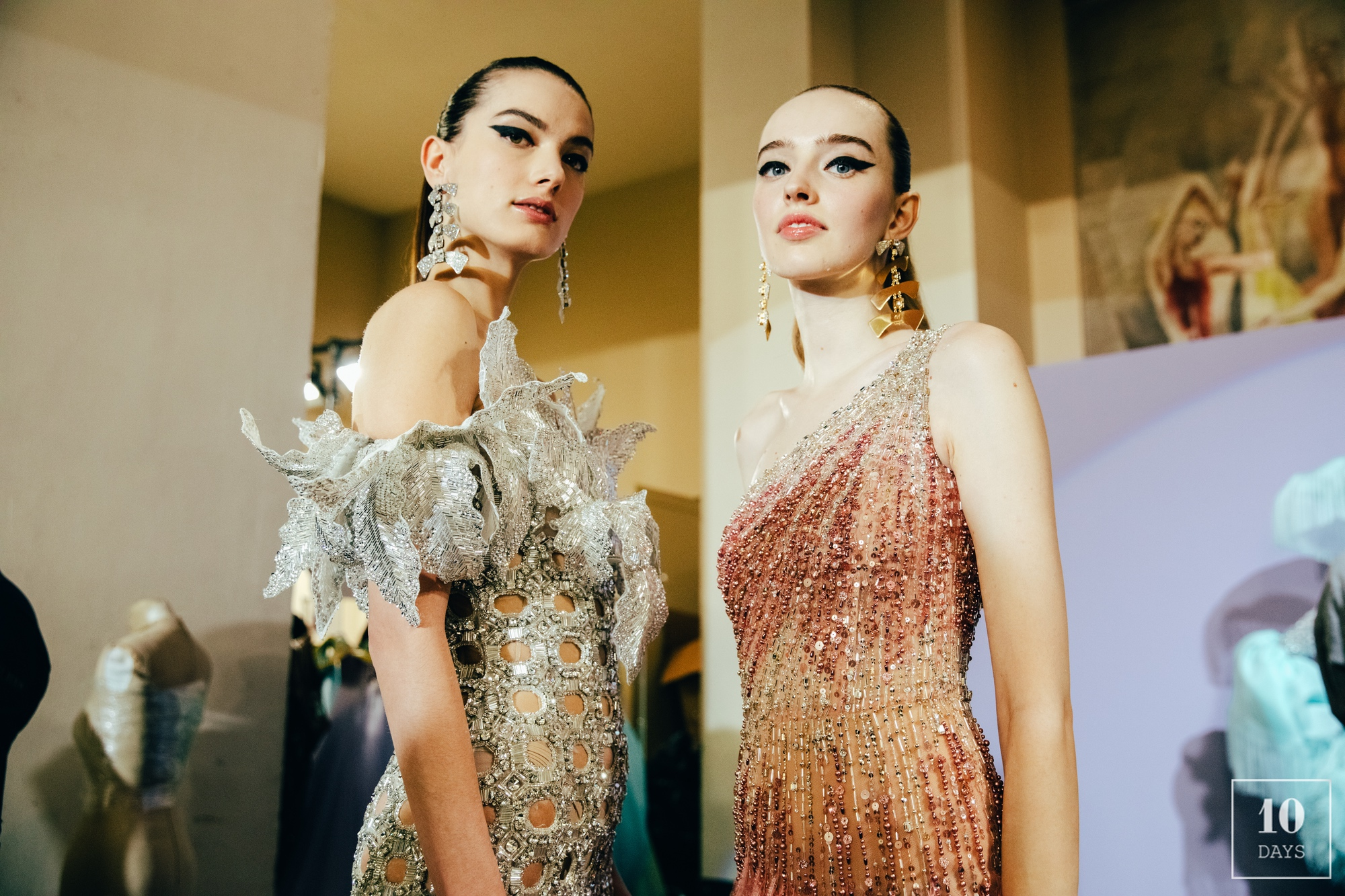 GEORGES HOBEIKA AW 20/21 BACKSTAGE
