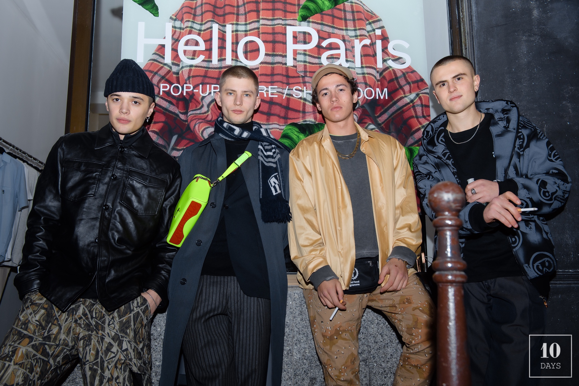 TONSURE POP UP STORE OPENING PARTY