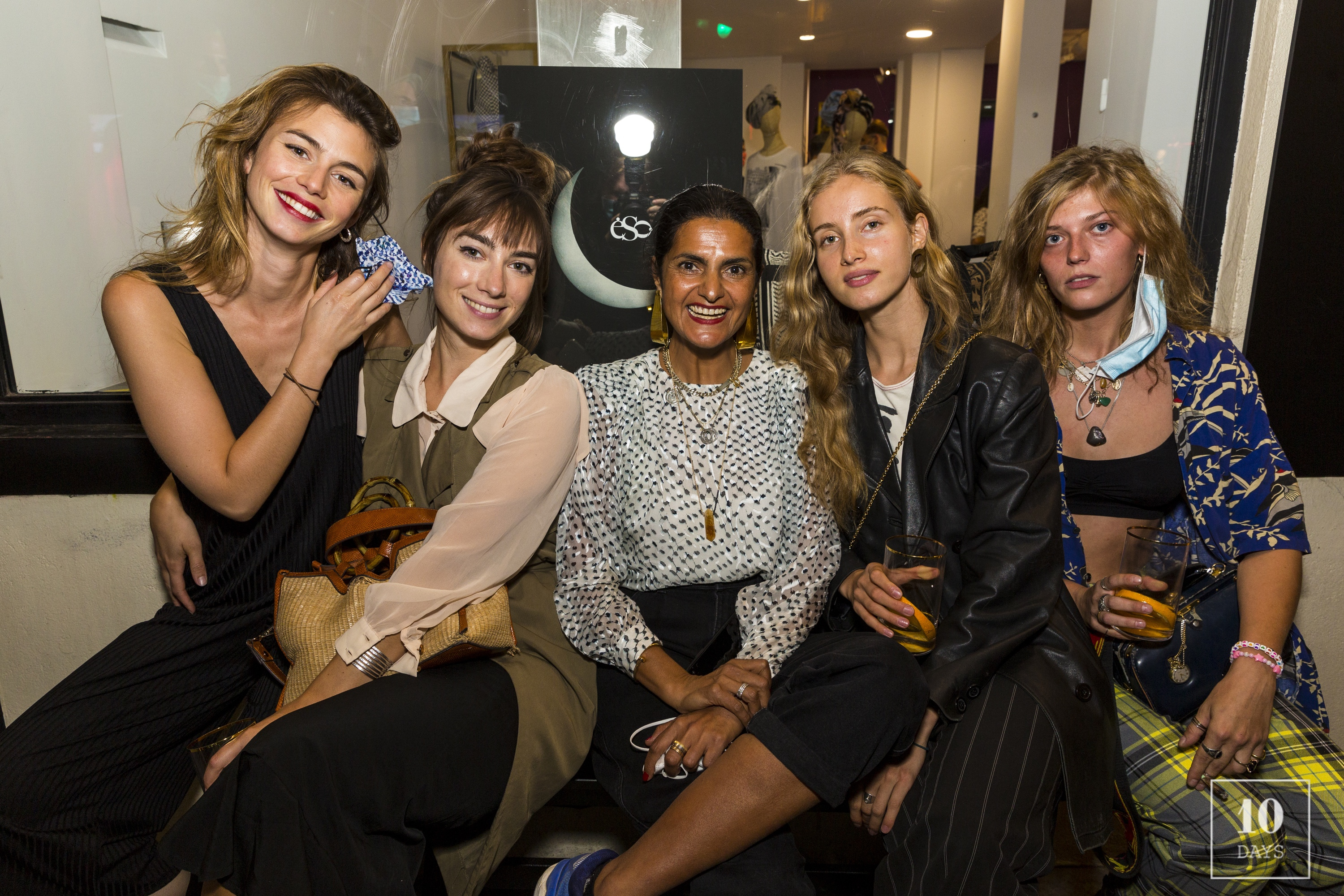 Lala Berlin opening night with influencers and press