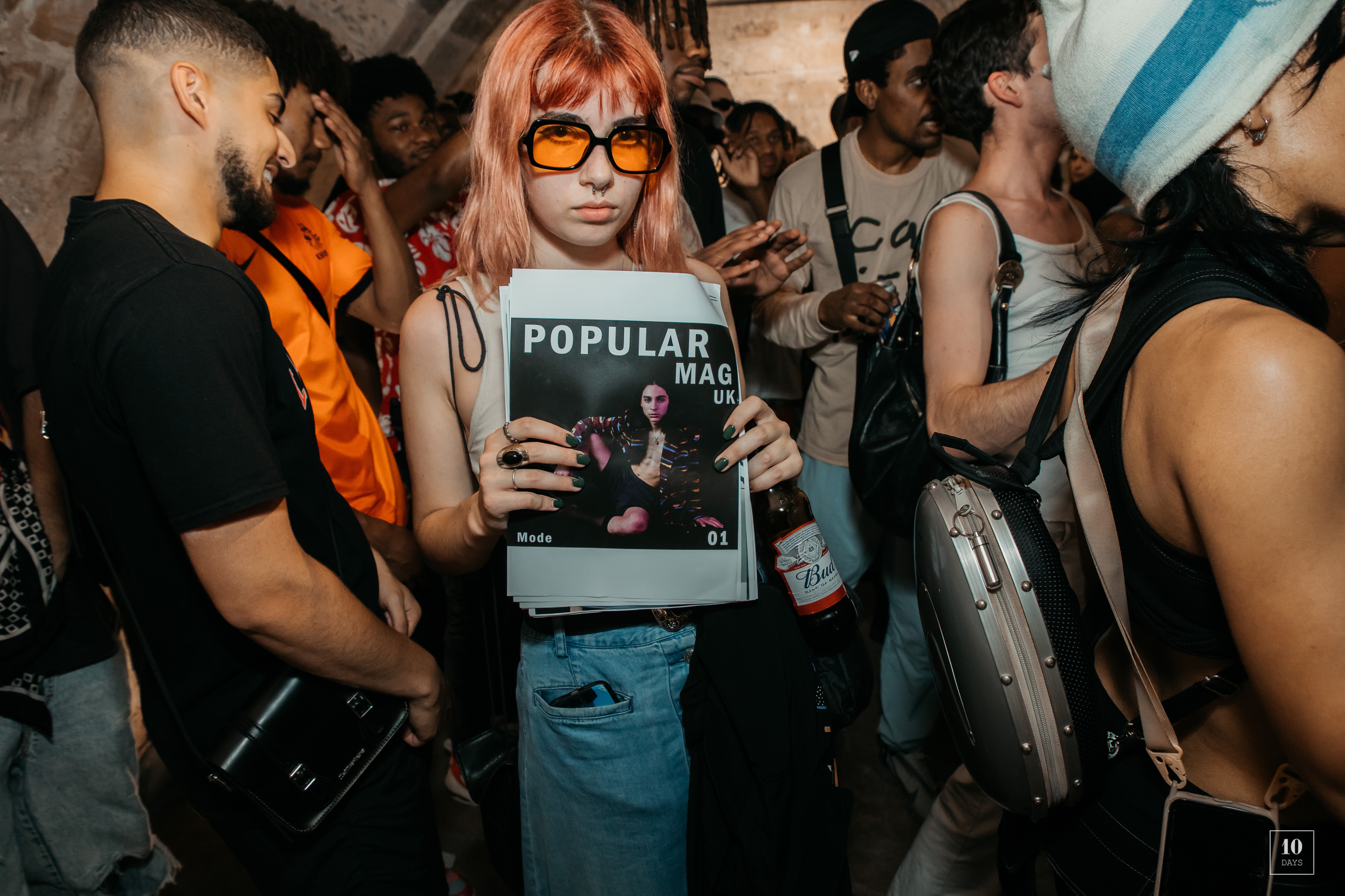 POPULAR MAGAZINE FIRST ISSUE PARTY