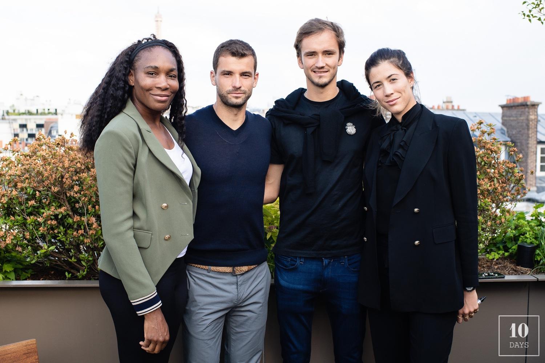 Brach Hotel Celebrates the Opening of Roland Garros w/ Serana Williams