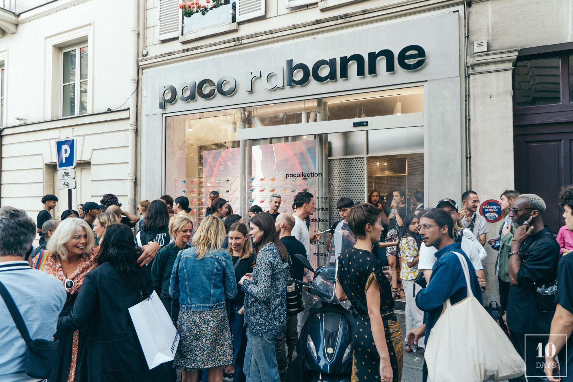Pacollection exclusive launch at Paco Rabanne Paris Cambon Store
