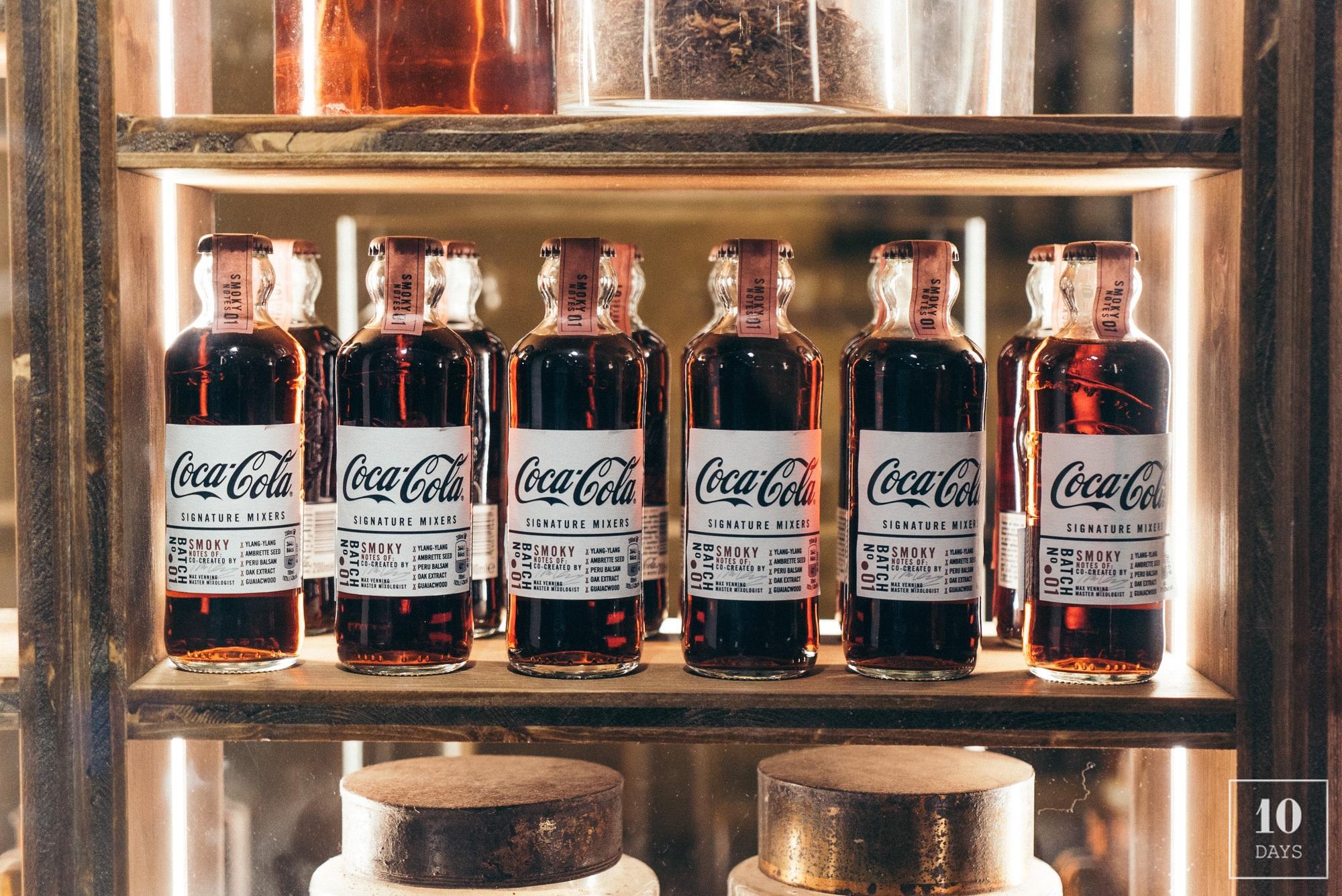 """Coca-Cola unvealed """"Le Signature"""" Pop Up Cocktail Bar"""