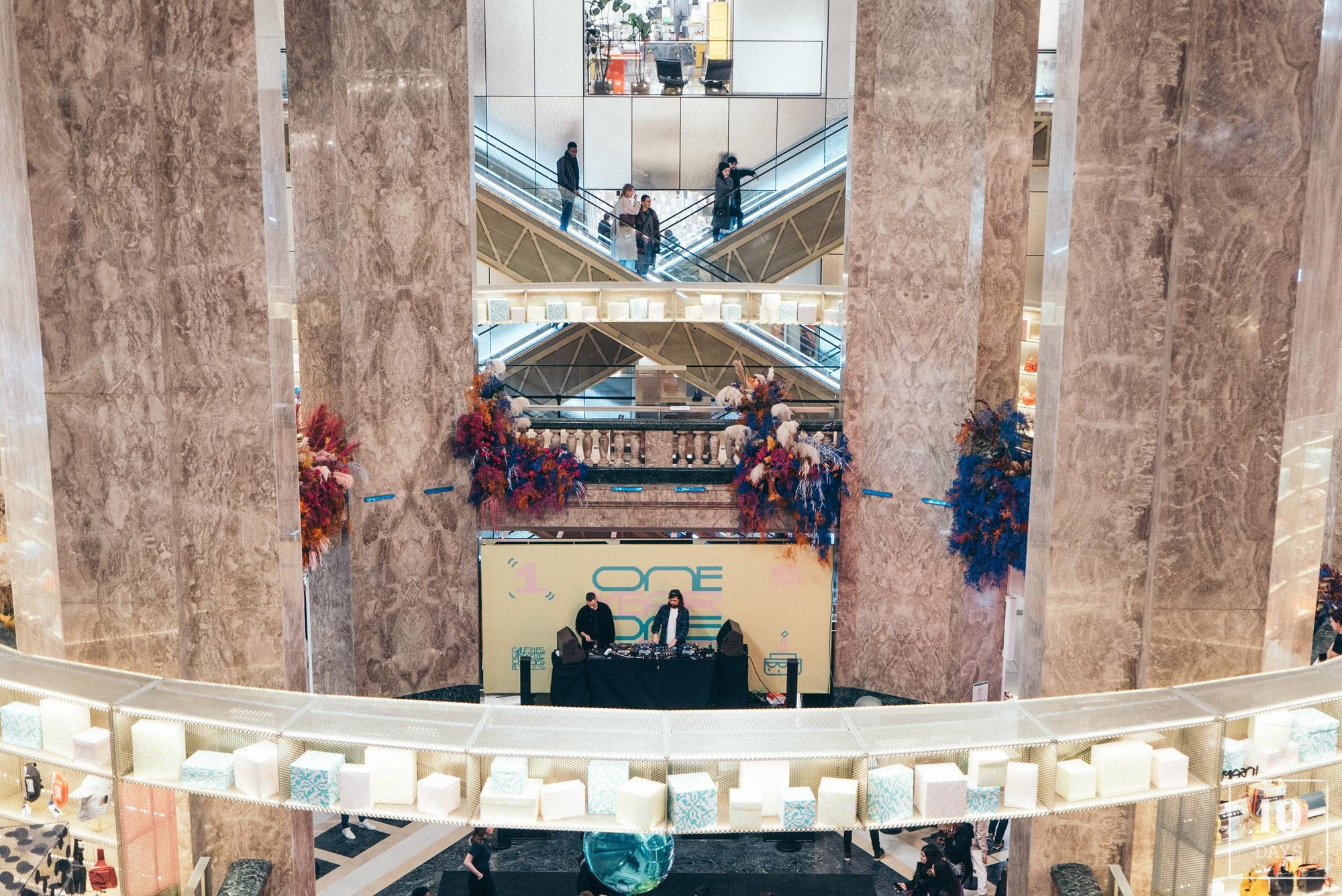 les Galeries Lafayette Champs-Élysées 1st Birthday Party